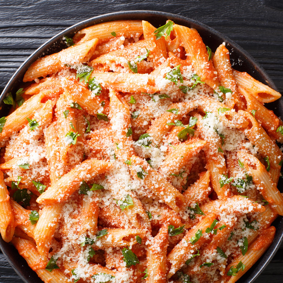 Penne with Vodka Cream Sauce
